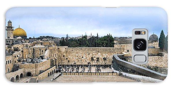 Jerusalem The Western Wall Galaxy Case