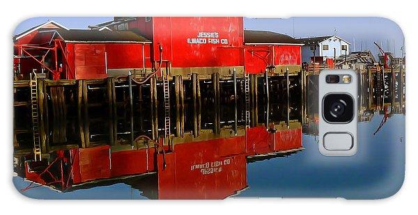Jessies Ilwaco Fish Company Galaxy Case