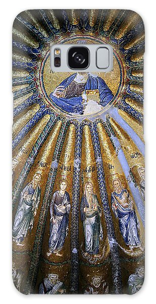Sacred Heart Galaxy Case - Jesus And His Peeps by Stephen Stookey