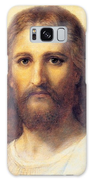 Jesus Christ Galaxy Case by Carl Bloch