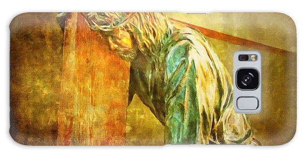 Jesus Falls Via Dolorosa 3 Galaxy Case