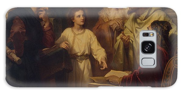 Jesus In The Temple Galaxy Case by Heinrich Hoffmann