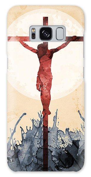 Jesus Our Savior Galaxy Case