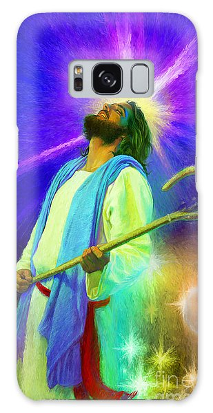 Jesus Rocks Galaxy Case