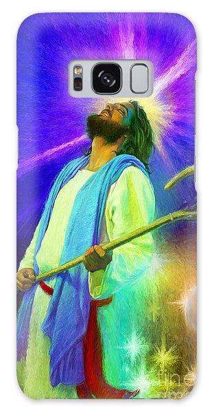 Jesus Rocks Galaxy Case