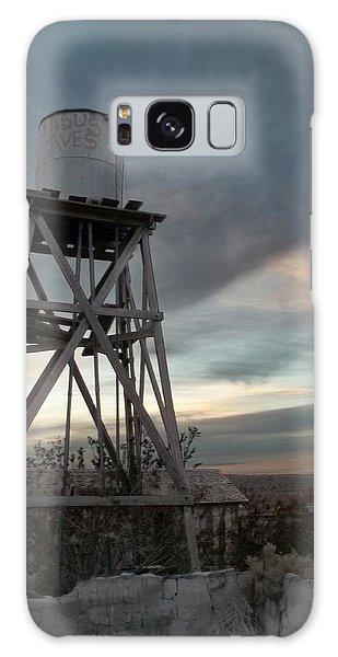 Jesus Saves Watertower - Route 66 Galaxy Case