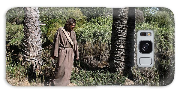 Jesus- Walk With Me Galaxy Case