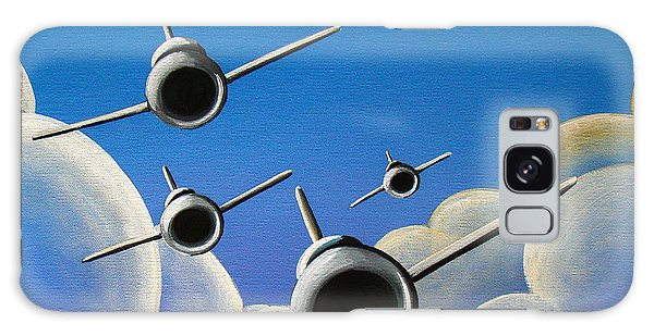 Airplane Galaxy S8 Case - Jet Quartet by Cindy Thornton