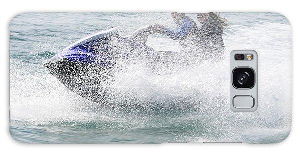 Jetboat Fun Galaxy Case by Phoenix De Vries