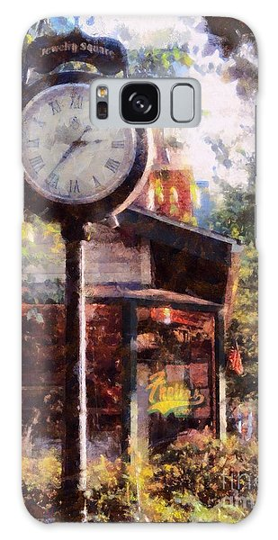 Jewelry Square Clock Milford  Galaxy Case