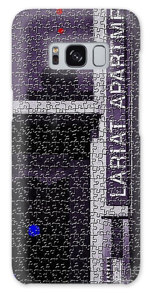 Jigsaw Contemporary Galaxy Case by Lawrence Burry