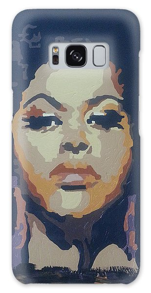Jill Scott Galaxy Case by Rachel Natalie Rawlins
