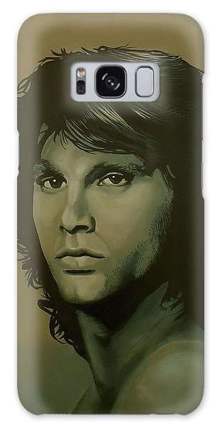 Raven Galaxy S8 Case - Jim Morrison Painting by Paul Meijering