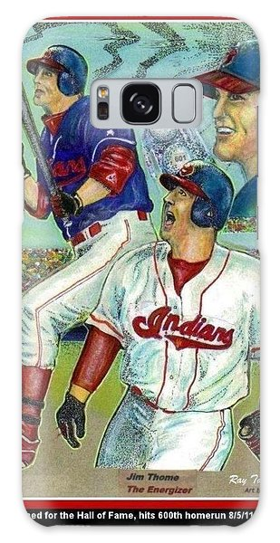 Jim Thome Cleveland Indians Galaxy Case