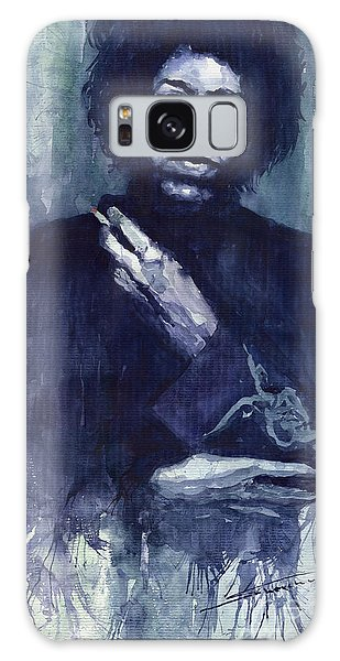 Portret Galaxy Case - Jimi Hendrix 01 by Yuriy Shevchuk