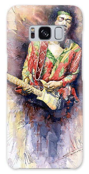 Rock Galaxy Case - Jimi Hendrix 09 by Yuriy Shevchuk