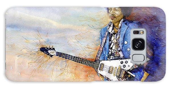 Portret Galaxy Case - Jimi Hendrix 10 by Yuriy Shevchuk