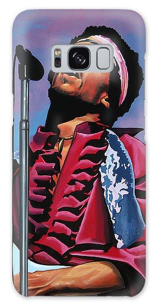 Knight Galaxy S8 Case - Jimi Hendrix 2 by Paul Meijering