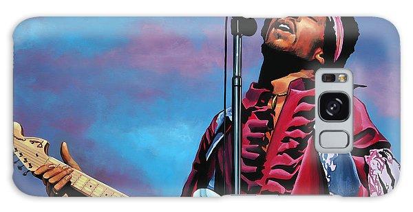 Cd Galaxy Case - Jimi Hendrix 2 by Paul Meijering