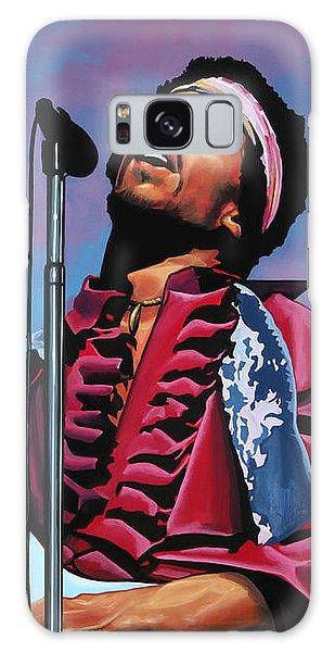 Knight Galaxy Case - Jimi Hendrix 2 by Paul Meijering