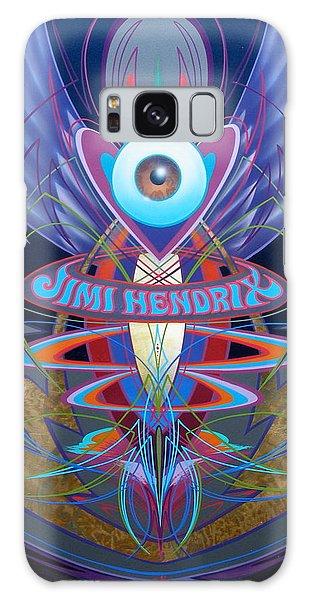 Jimi Hendrix Memorial Galaxy Case