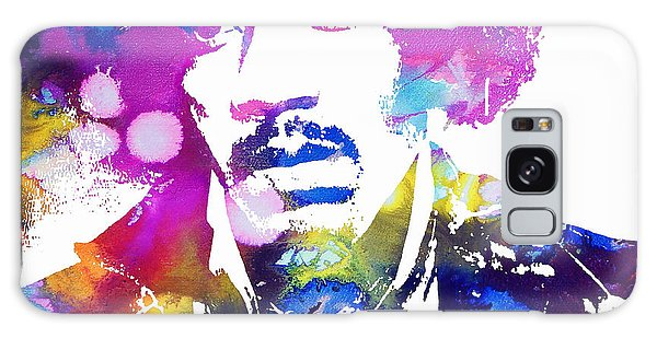 Jimi Hendrix - Psychedelic Galaxy Case by Doc Braham