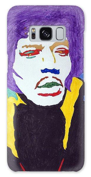 Voodoo Galaxy Case - Jimi Hendrix Purple Haze  by Stormm Bradshaw
