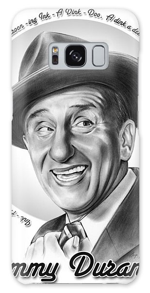 Jimmy Durante Galaxy Case by Greg Joens