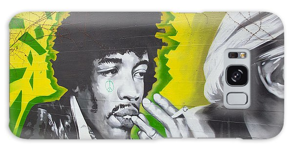 Jimmy Hendrix Mural Galaxy Case by Chris Dutton