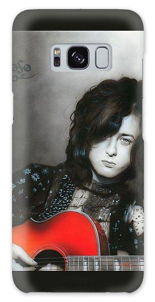Jimmy Page Galaxy Case - Jimmy Page by Christian Chapman Art