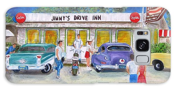 Jimmy's Drive Inn Galaxy Case