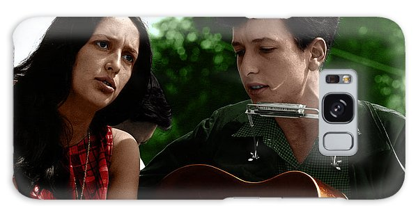 March Galaxy Case - Joan Baez With Bob Dylan by Celestial Images