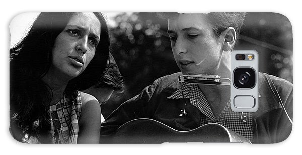 March On Washington Galaxy Case - Joan Baez With Bob Dylan by Celestial Images