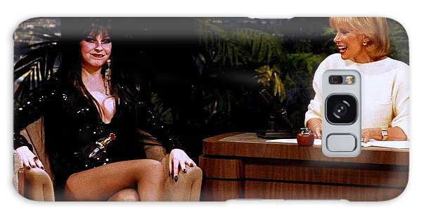 Joan Rivers And Elvira Galaxy Case by Brian Benjamin