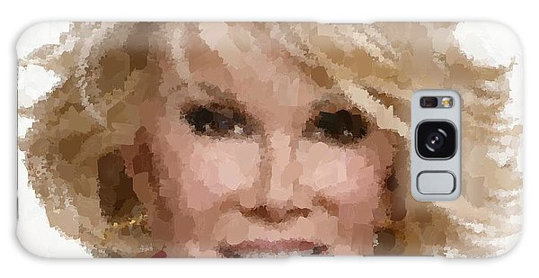 Joan Rivers Portrait Galaxy Case