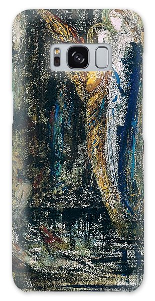 Mythological Galaxy Case - Job And The Angels by Gustave Moreau