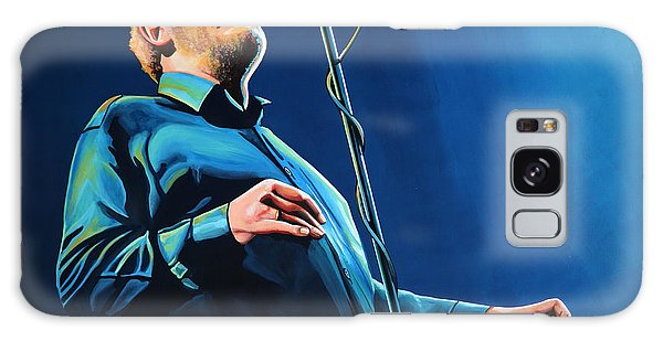 Cd Galaxy Case - Joe Cocker Painting by Paul Meijering