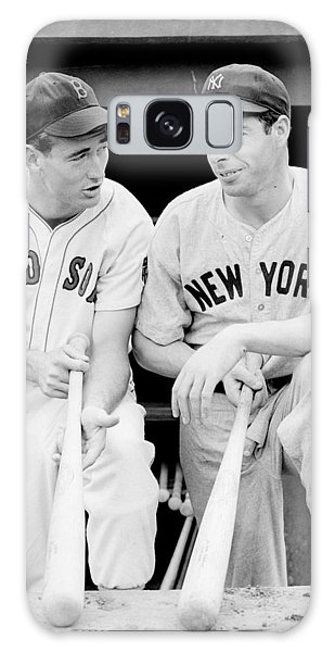 Joe Dimaggio And Ted Williams Galaxy Case