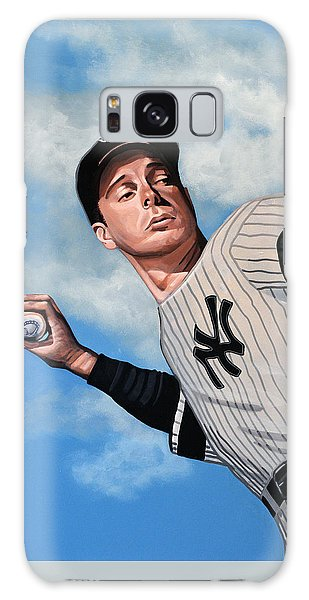 Baseball Players Galaxy S8 Case - Joe Dimaggio by Paul Meijering