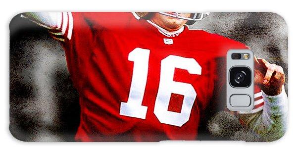 Sportsman Galaxy Case - Joe Montana by Brian Reaves