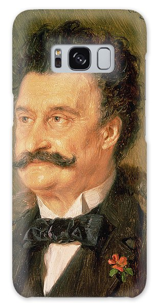 Moustache Galaxy Case - Johann Strauss The Younger, 1895 by Eduard Grutzner
