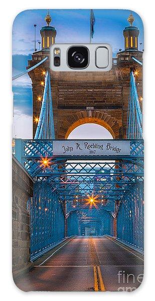John A. Roebling Suspension Bridge Galaxy Case