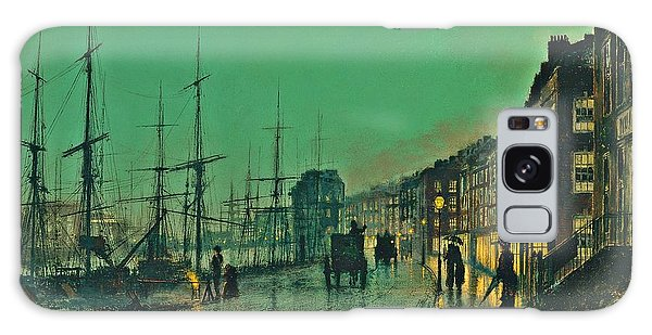 John Atkinson Grimshaw Shipping On The Clyde 1881 Galaxy Case