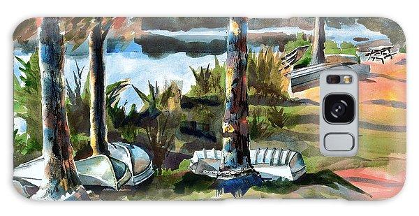 John Boats And Row Boats Galaxy Case