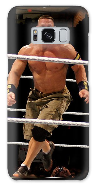 John Cena In Action Galaxy Case by Paul  Wilford
