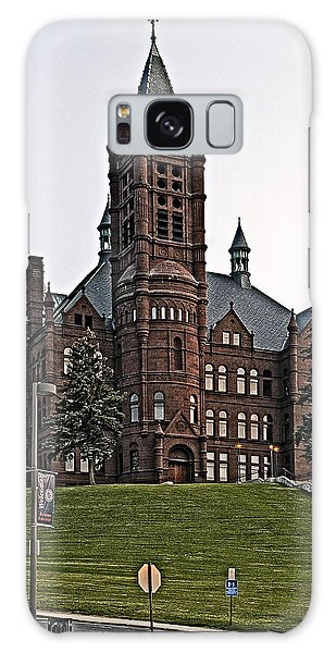 John Crouse Memorial College For Women Galaxy Case by Andy Crawford