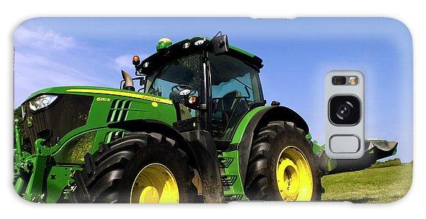 John Deere Galaxy Case - John Deere 6210r Tractor by Ian Gowland