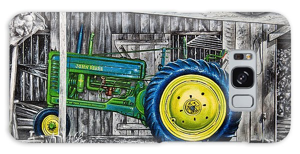 John Deere Green Galaxy Case by Craig T Burgwardt