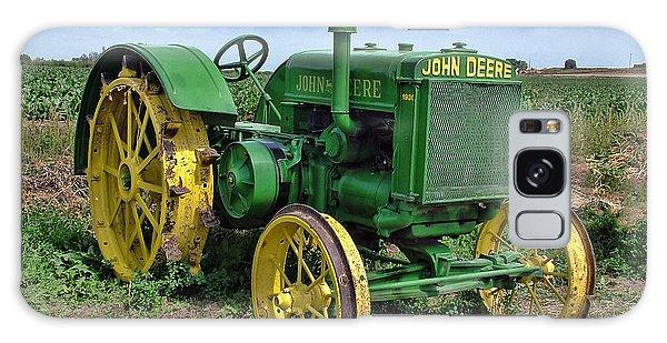 John Deere Tractor Hdr Galaxy Case by Ken Smith