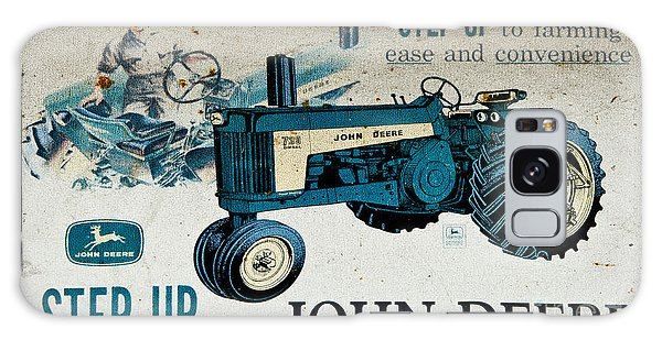 John Deere Tractor Sign Galaxy Case